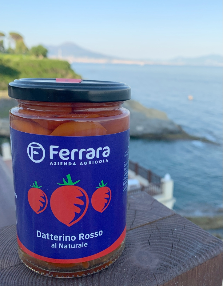 Datterino Red Tomato Natural -350gr