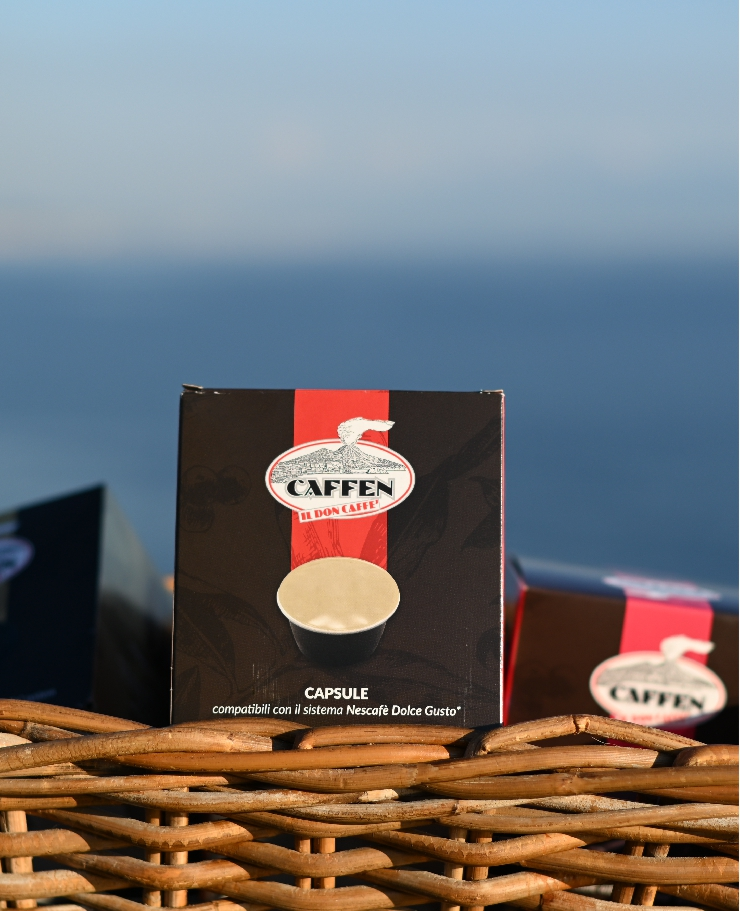 """10 Coffee Capsules - """"CAFFEN"""" - Compatible with the Nescafè Dolce Gusto system"""