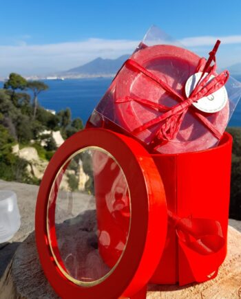 Romantic Red Box with Scented Candle