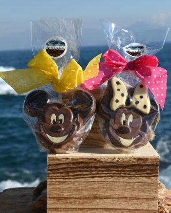 2 Fun Disney Characters in Chocolate Each Hand Made